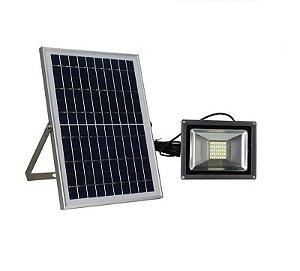 Refletor LED Solar 20w 40 Leds Auto Recarregável
