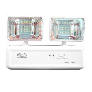 Luminária de Emergência LED 400 Lúmens | 2 Faróis