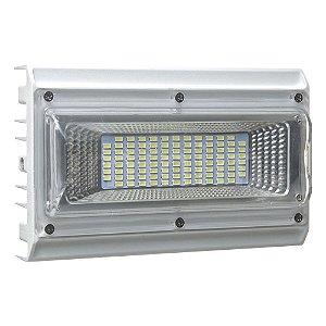 Refletor Holofote MicroLED Industrial 50W Branco Frio 6000k