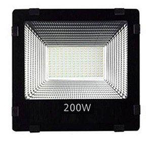 Refletor Holofote Micro LED 200W Branco Frio 6000k