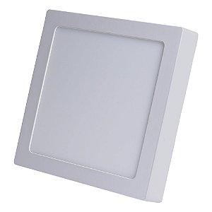 Luminária Plafon 25w LED Sobrepor Branco Frio 6000k