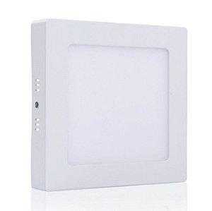 Luminária Plafon 25w LED Sobrepor Branco Quente 3000K