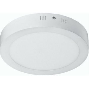 Luminária Plafon 18w LED Sobrepor Branco Quente 3000K