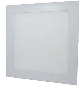 Luminária Plafon 25w LED Embutir Branco Quente 3000K