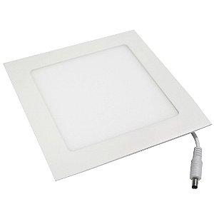 Luminária Plafon 6w LED Embutir Branco Frio 6000k