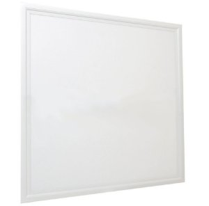 Luminária Plafon 62x62 48W LED Embutir Branco Frio 6000k Borda Branca