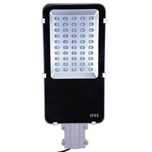 Luminária Pública LED 50W Externa Para Poste - Branco Frio 6000k