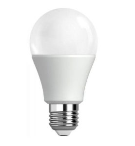 Lâmpada Bulbo LED A60 8W Bivolt Branca - Branco Quente 3000K