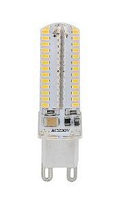 Lâmpada LED Halopin G9 5w Branco Quente 3000K
