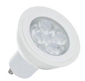 Lâmpada LED Dicróica 4,5W GU10 Branco Frio 6000k | Inmetro
