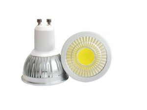 Lâmpada Dicroica LED COB GU10 5w Branco Quente 3000K
