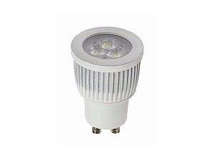Lâmpada LED Dicroica MR11 3w Branco Quente 3000K