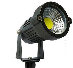 Espeto de Jardim LED 5W Branco Frio 6000k