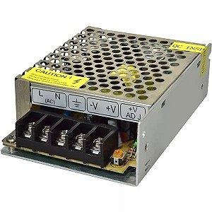 Fonte Chaveada 12v 5A Para LED ou Câmeras