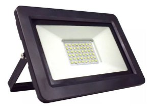 Holofote Refletor LED 100w Bivolt Branco Frio a Prova D'água