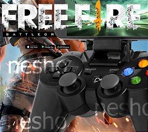 Controle Para Celular Gamepad Bluetooth Smartphone P/jogos free fire e pubg