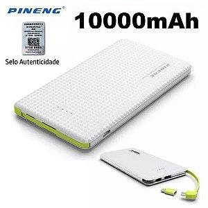 Bateria Externa Carregador Portátil Celular 10000mah Pineng