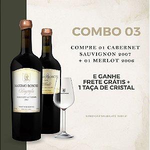Combo Biografia Cabernet Sauvignon 2007 + Merlot 2006