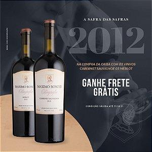 Kit safra das safras -  Merlot e Cabernet sauvignon 2012