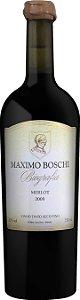 Maximo Boschi Biografia Merlot 2009