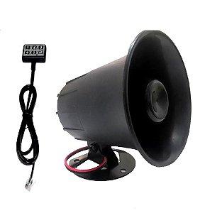 Buzina Eletrônica - 12 Toques Mista