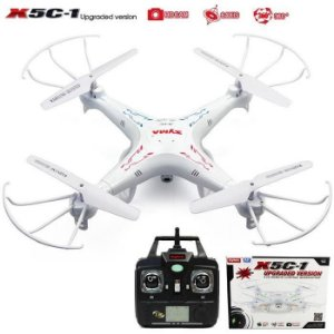 Drone Syma X5c-1 Câmera Hd 2mp 2,4gh Quadricóptero