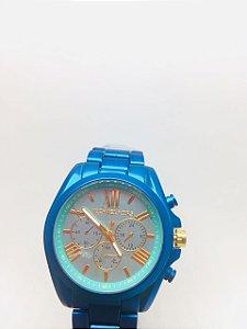 Relógio Mk Feminino Luxo Analógico