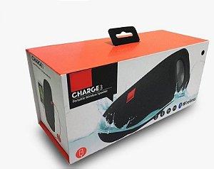 Jbl Charge 3 Caixinha Bluetooth Caixa De Som Portátil