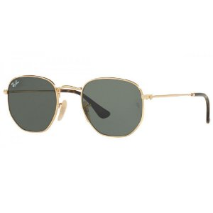 Óculos Solar Ray-Ban RB3548NL 001 Hexagonal