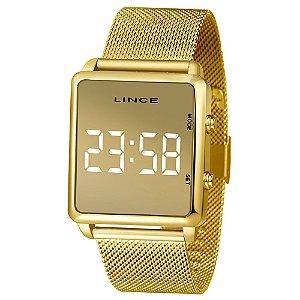 Relógio Lince MDG4619L BXKX Dourado Digital