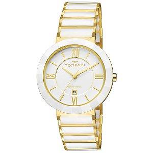 Relógio Technos Cerâmica Safira 2015CE/4B