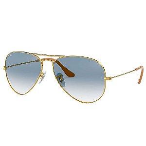 Óculos Solar Ray-Ban RB3025L 001/3F Aviator