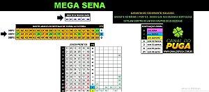Planilha Mega Sena - Esquema com Apenas 30 Jogos
