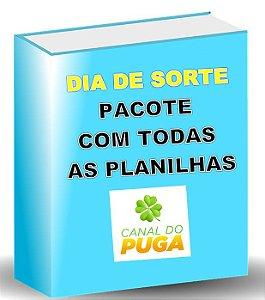 PACOTE DE PLANILHAS DIA DE SORTE