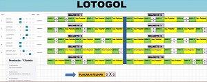 Planilha Lotogol - Fecha 2 Acertos