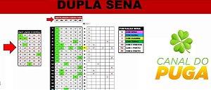 Planilha Dupla Sena - 50 Dezenas Com Terno Sempre