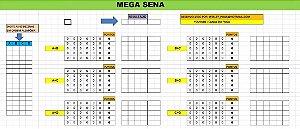 Planilha Mega Sena - Jogue Com 60 Dezenas