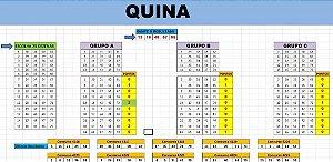 Planilha Quina - Jogue Com 75 Dezenas