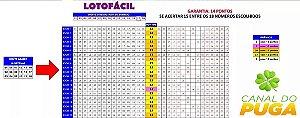 Planilha Lotofácil - Garante 100% 14 Pontos Em 24 Jogos