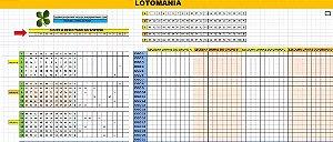 Planilha Lotomania - Esquema Para Errar Os Numeros