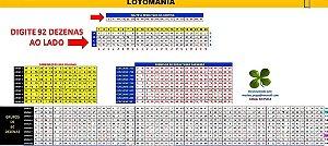 Planilha Lotomania - Grupos De 60 Dezenas Pra Ganhar