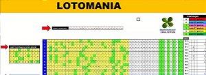 Planilha Lotomania - Esquema Com 80 Dezenas E Dupla Redução