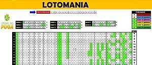 Planilha Lotomania - 80 Dezenas Combinadas Em Grupos De 10