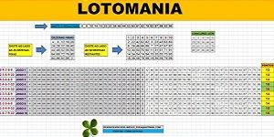 Planilha Lotomania - Esquema Com 75 Dezenas em Apenas 10 Jogos