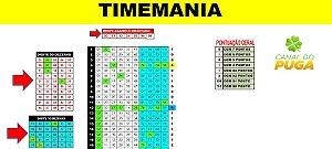 Planilha Timemania - Esquema 80 Dezenas Com Redução