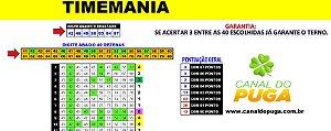 Planilha Timemania - Fechamento com 40 Dezenas pra Ganhar