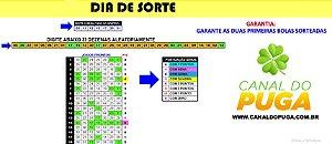 Planilha Dia de Sorte - 31 Dezenas em 26 Jogos com Garantia