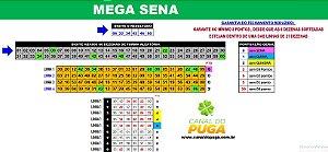 Planilha Mega Sena - Jogue com 4 Grupos de 21 Dezenas