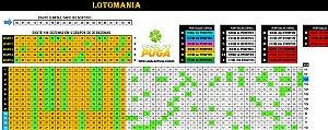 Planilha Lotomania - Esquema Para Acertar Dezenas Fixas