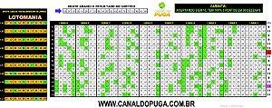 Planilha Lotomania - Esquema com Apenas 17 Jogos